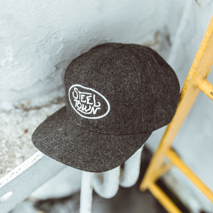 Steeltown Melton Wool Snapback