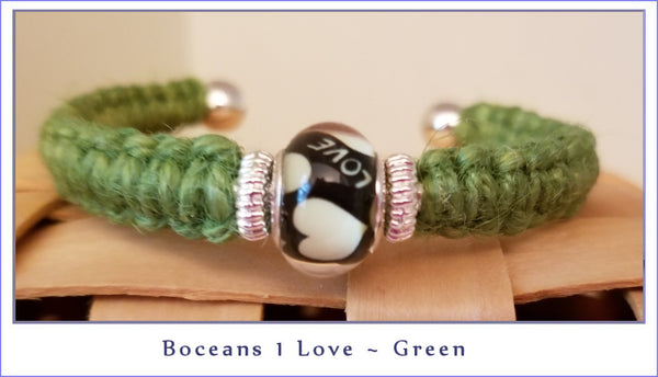 Boceans One Love ~ Green B507 - Boceans of Cape Cod