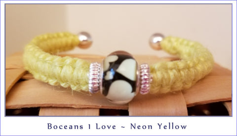 Boceans One Love ~ Neon Yellow ~ B506 - Boceans of Cape Cod