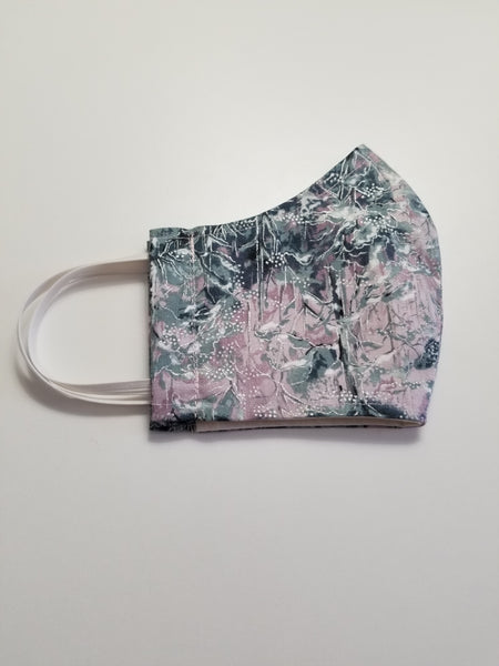 Protective Face Mask - Lavender Forest Scene - Boceans of Cape Cod