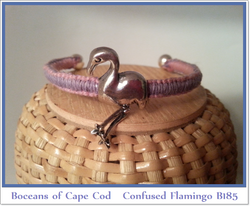 Bocean's Confused Flamingo ~ B185 Shown in Lavender & Pink - Boceans of Cape Cod