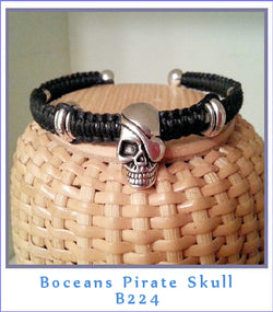 Boceans Pirate Skull ~ B224 - Boceans of Cape Cod