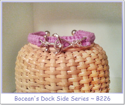 Bocean's Dockside Series Anchor & Rope  ~B226 - Boceans of Cape Cod