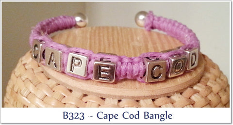 The Cape Cod Bocean's Bangle ~ B323 - Boceans of Cape Cod