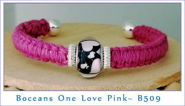Boceans One Love ~ Pink B509 - Boceans of Cape Cod