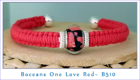 Boceans One Love ~ Red B510 - Boceans of Cape Cod