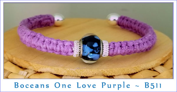 Boceans One Love ~ Purple B511 - Boceans of Cape Cod