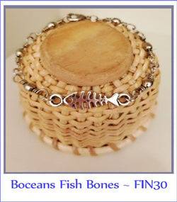 Fishing for Inspiration Series ~ Fish Bones~FIN41 - Boceans of Cape Cod