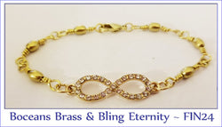 Boceans Brass & Bling Eternity ~ FIN24 - Boceans of Cape Cod