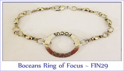 Boceans Ring of Focus Bracelet ~ FIN29 - Boceans of Cape Cod