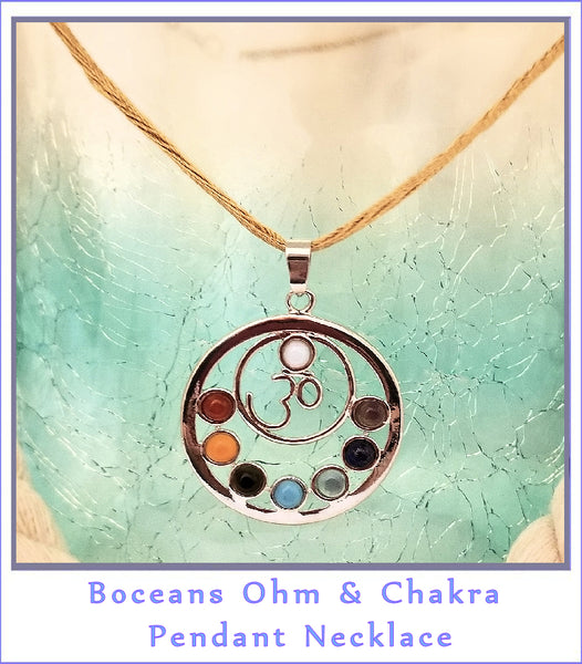 Boceans Ohm N Chakra Necklace ~N001 ONC - Boceans of Cape Cod