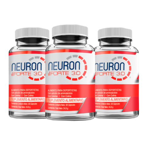TRIPLE PACK NEURON FORTE 3.0