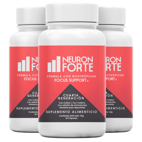 Neuron Forte 4.0 - Trio Pack (Concentración)-