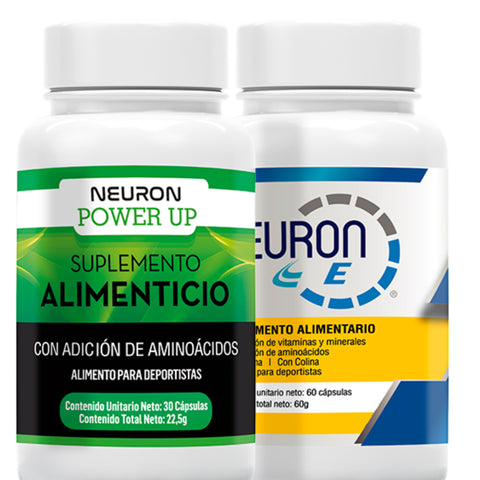 Duopack Neuron Power Up + NE(Full Energía + Multivítaminico)