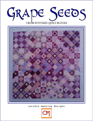 Grape Seeds Carolyn Manning Cross Stitch Chart