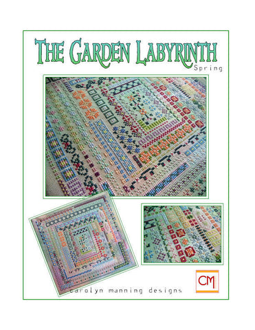 The Garden Labyrinth Spring Carolyn Manning Cross Stitch Chart
