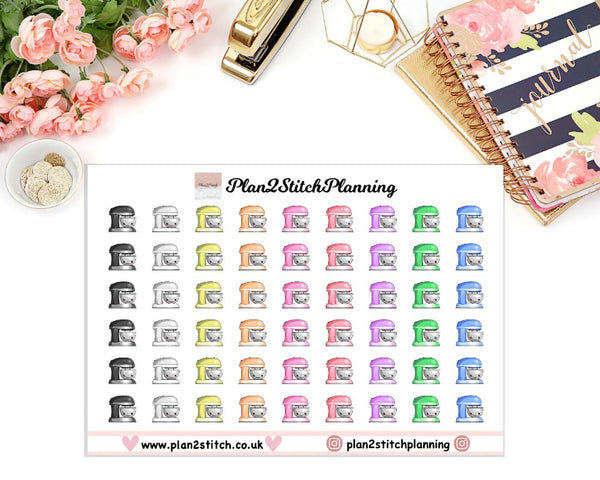 Baking/Cooking Planner Stickers