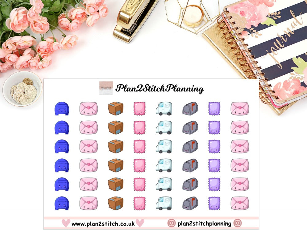 Mail Planner Stickers