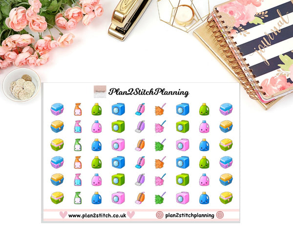 Housework Planner Stickers