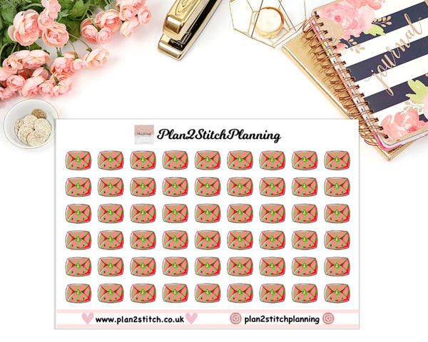 Christmas Mail Planner Stickers