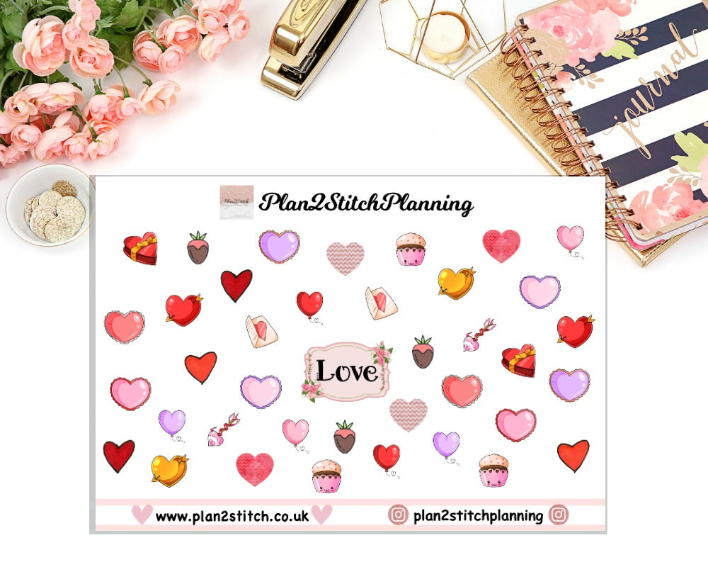 Love Planner Stickers