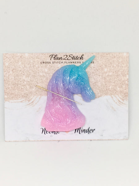 Large Glitter Unicorn Needleminder