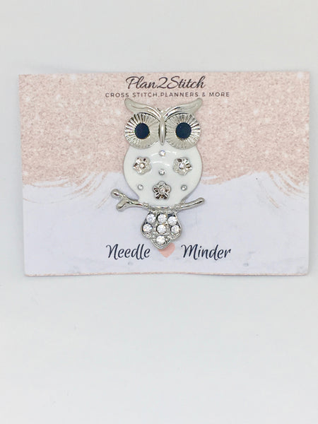 Oscar the Owl Alloy Needleminder