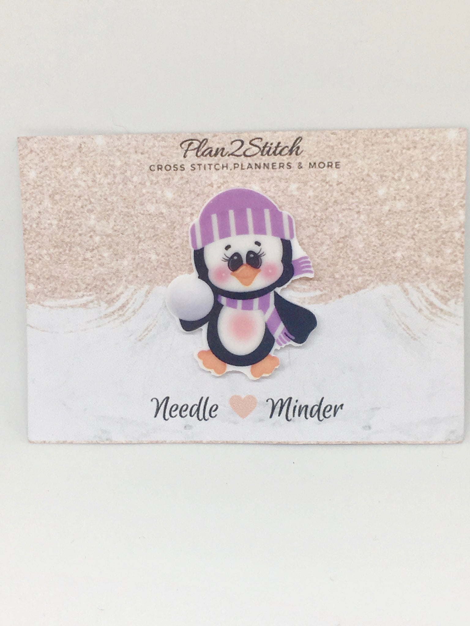 Cute Penguin Needleminder