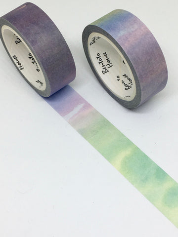 Watercolour Rainbow Washi Tape