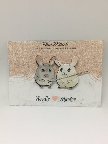 Cute Gerbil Pair Needleminder