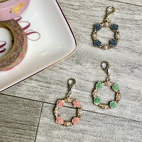 Ring of Roses Planner Charm