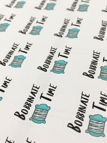 Bobbinate Planner Stickers