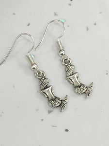 Mermaid Dangly Earrings