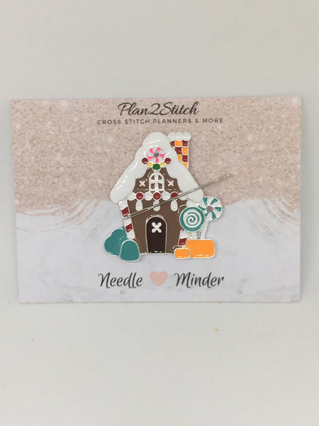 Gingerbread House Alloy Needleminder