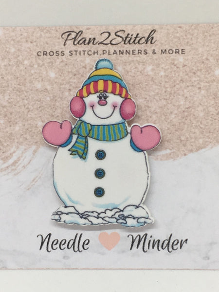 Frosty the Snowman Needleminder