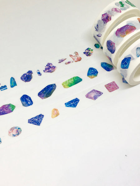 Set of 3 Crystal Washi Tapes