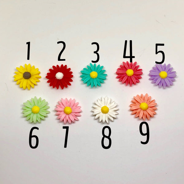 Colourful Daisy Needleminders