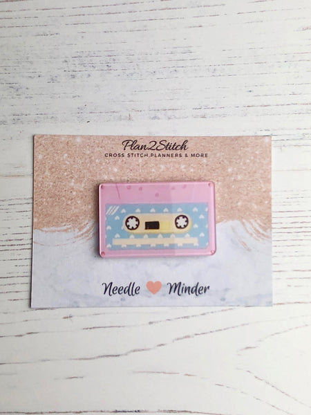 Retro Cassette Tape Needle Minder