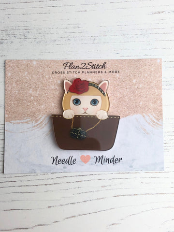 Handbag Kittie Needle Minder