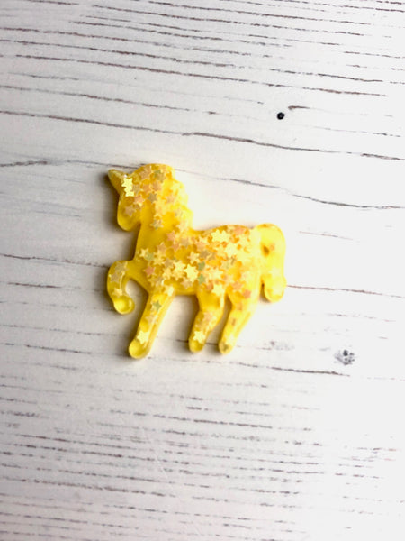Pastel Sequin Star Unicorn Needle Minders