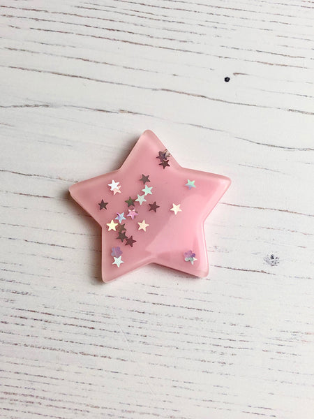 Pretty Sequin Star Needle Minders