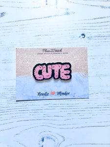 Cute and Fluffy Needleminder for cross stitch and embroidery
