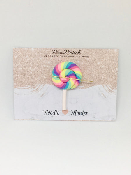 Rainbow Swirl Needleminder
