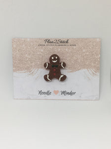 Gingerbread Man Needleminder