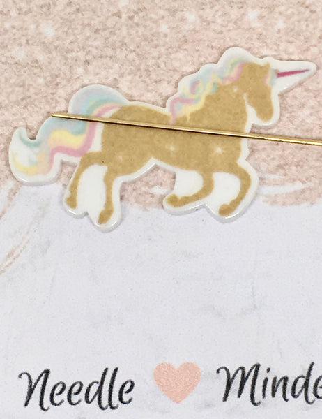 Golden Unicorn Needleminder