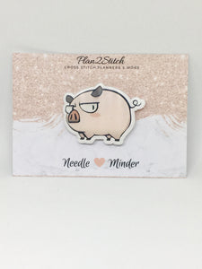 Kawaii Pig Needleminder