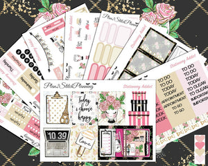 Stationery Addict Deluxe Weekly Sticker Kit