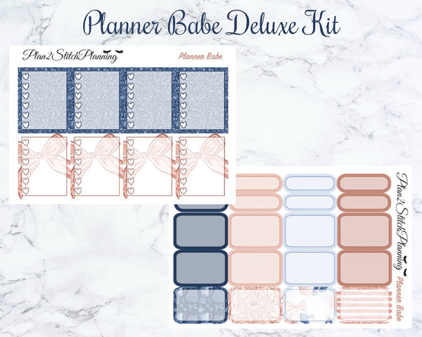 Planner Babe Deluxe Weekly Sticker Kit