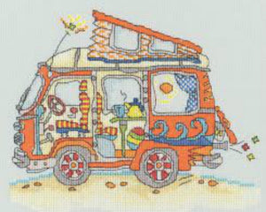 Sew Dinky VW Van Bothy Threads Kit