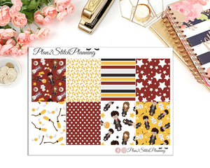 Wizard Full Box Erin Condren Planner Stickers